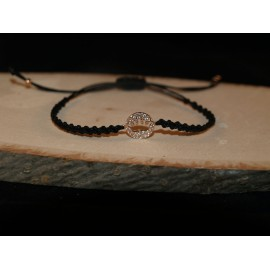 Bracelet crown with white Cz