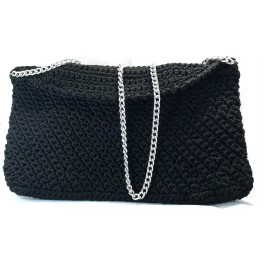 Handmade bag colour black