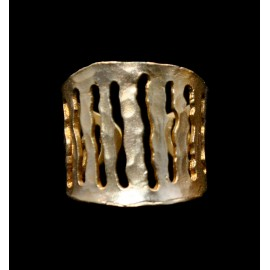 Brass Cast Ring 20x22mm