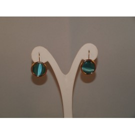 Earrings Optics Fiber